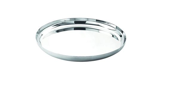 Picture of RATNA Stainless Steel German Thali/plates, 29 cm, 6 Piece, Silver