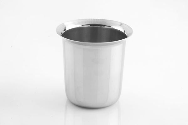 Picture of RATNA Stainless Steel Extra Heavy Anand Tea Glasses, 6 Piece, Silver